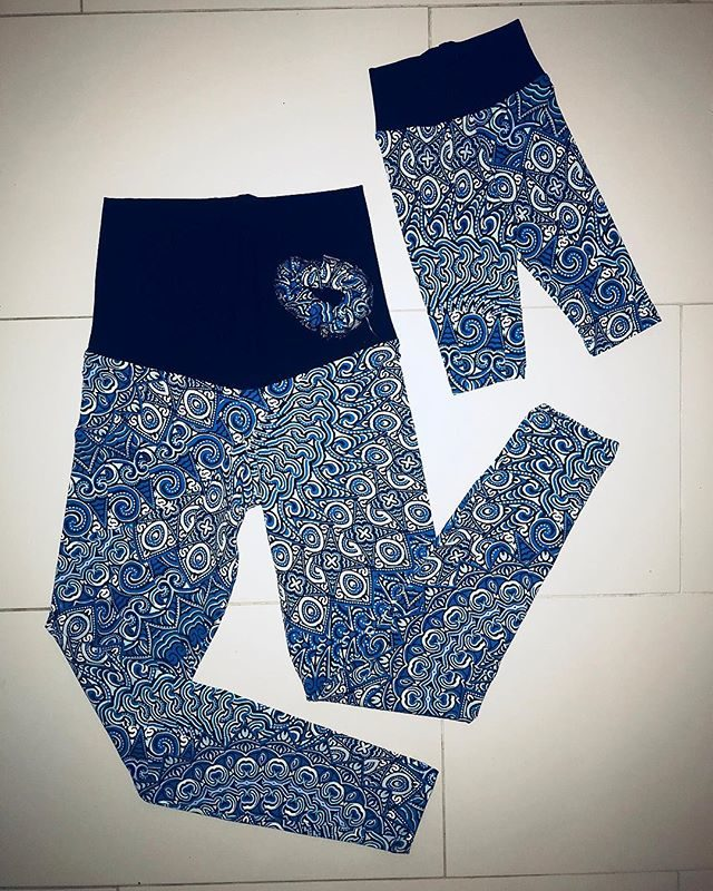 Mother and baby leggings