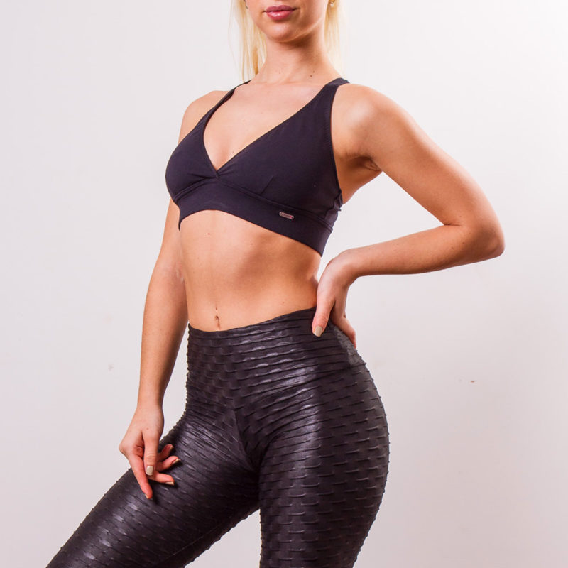 Ethically made Posto9 Brazilian Yoga wear leggings and tops