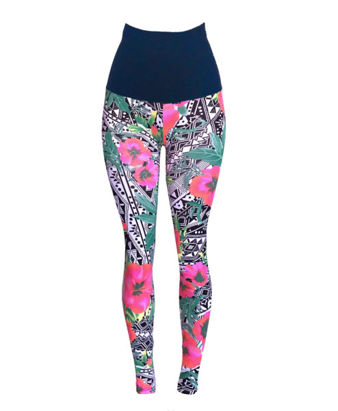 Ethically made Yogawear leggings by Posto9