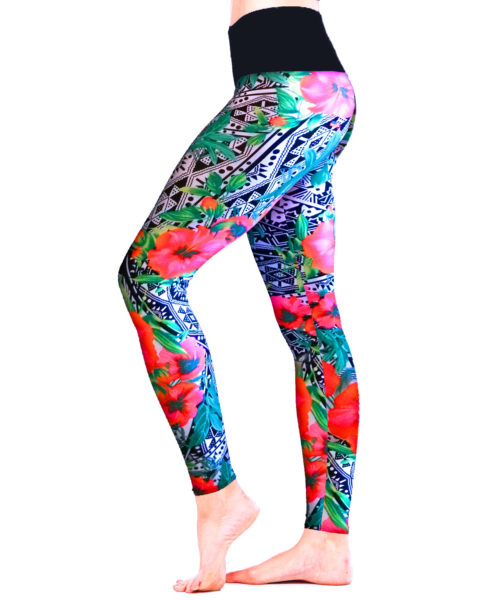Ethically made Yogawear leggings by Posto9