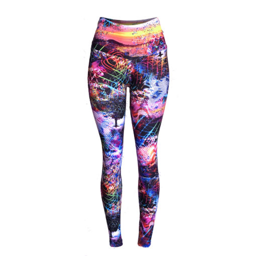 Ethically made bodysculpting fitnesswear leggings by Posto9