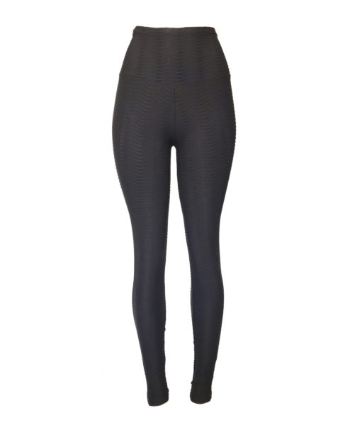 Ethically made, squat-proof, body shaping, opaque and comfortable texture leggings by Posto9