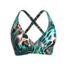 Eco-friendly Posidonia Polewear bra made in Ibiza from recycled fishing nets