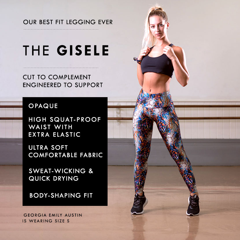 The Gisele Legging by Posto9. Worn by Georgia Emily Austin