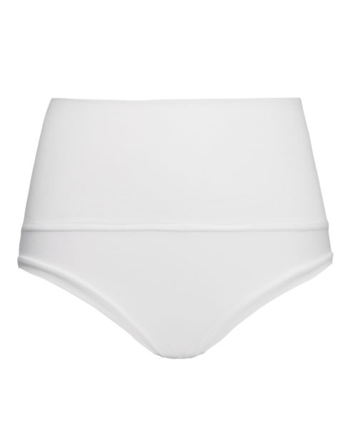 white high waist pole dance shorts by posto9