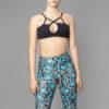 Posto9 Brazilian supplex black bralette for dance, yoga and pole