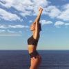 Posto9 high waist pole dance shorts