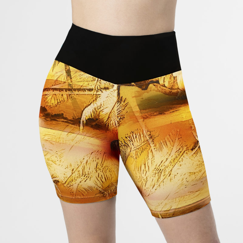 Posto9 high waist cycle shorts