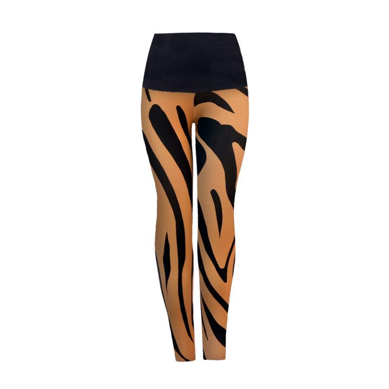 Posto9 Zebra print high waist leggings for Pole Dance and Yoga