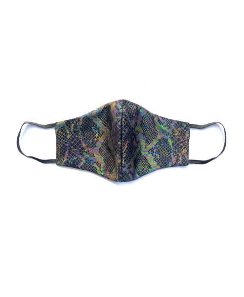 Posto9 Rainbow Snake Face Mask