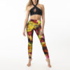 Posto9 multi-colour high waist leggings for Pole Dance and Yoga