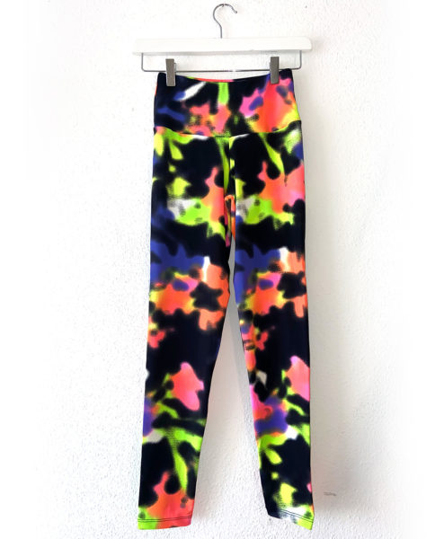 Posto9 high waist leggings multi-colour print
